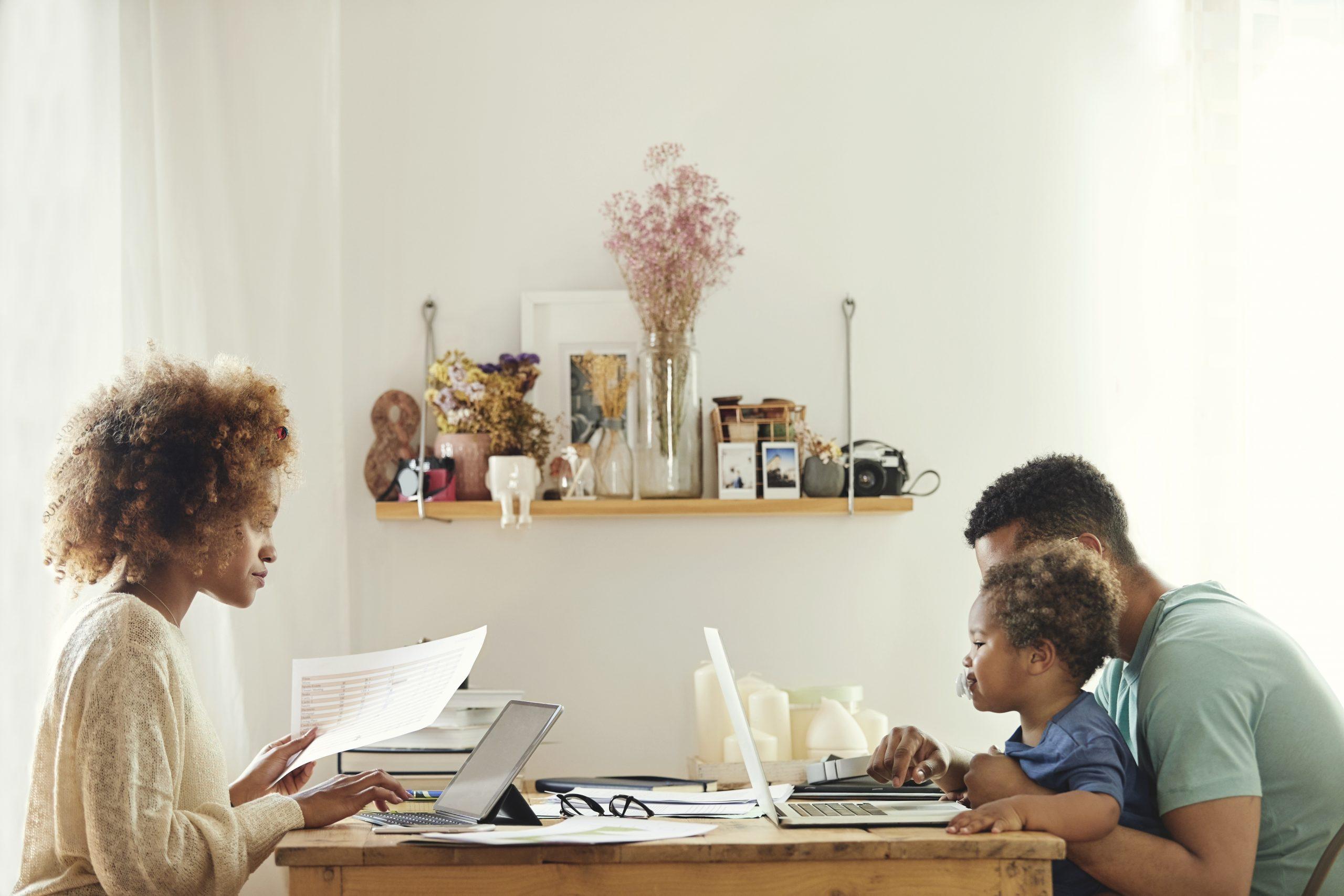 Immer mehr Menschen dauerthaft im Home Office durch Corona.